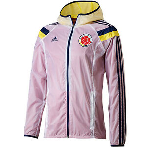 0242400d933 ADIDAS COLOMBIA WOVEN ANTHEM TRACK JACKET FIFA WORLD CUP BRAZIL 2014 ...