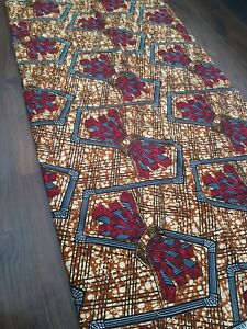 African Cotton Fabric Wax Print Per Yard New Design Beautiful Superior Ankara