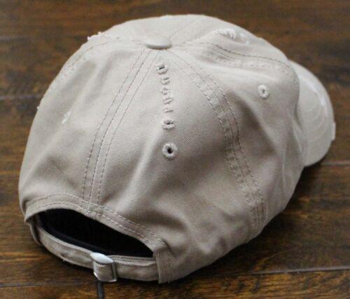 USMC United States Marine Corps EGA Eagle Globe /& Anchor Vintage Hat Khaki