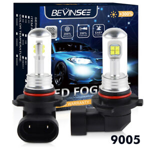 Lighting & Lamps LED Headlight Bulbs Kit CREE H10 9145 for