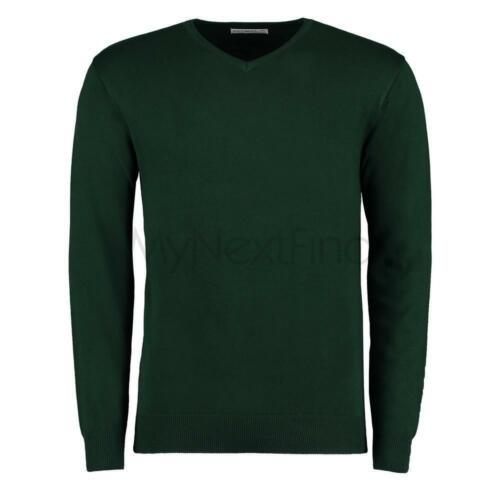 Kustom Kit Arundel V-Neck Sweater Long Sleeve