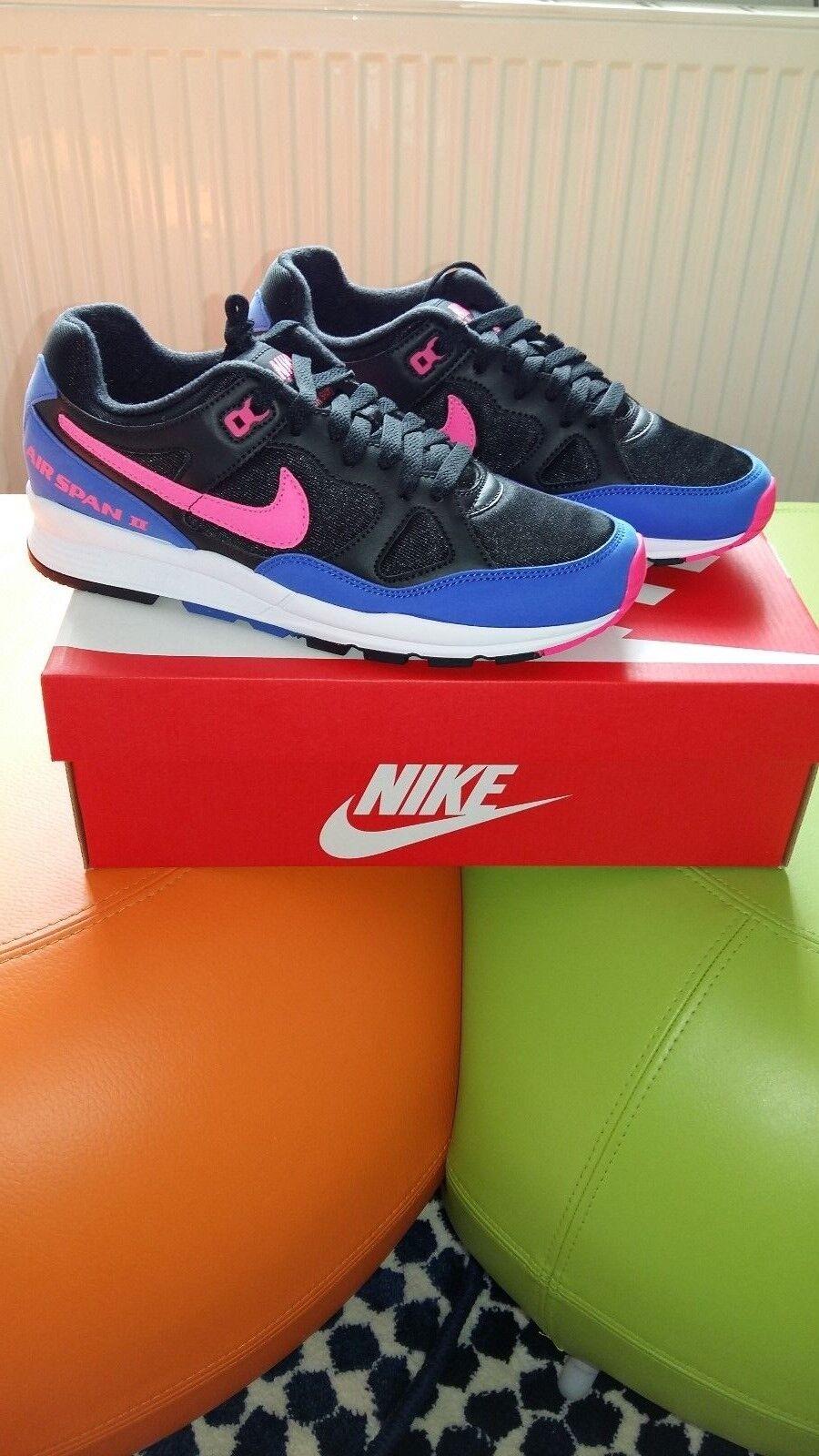 Nike Air Span 2... 2... 2... Retro Sport Scarpe da ginnastica unisex misura 7 Regno Unito eur-41 1e9dfa