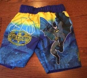 9936a371bb DC Comics Batman Boy's Swim Trunks Suit Size 24 Months Swimsuit | eBay