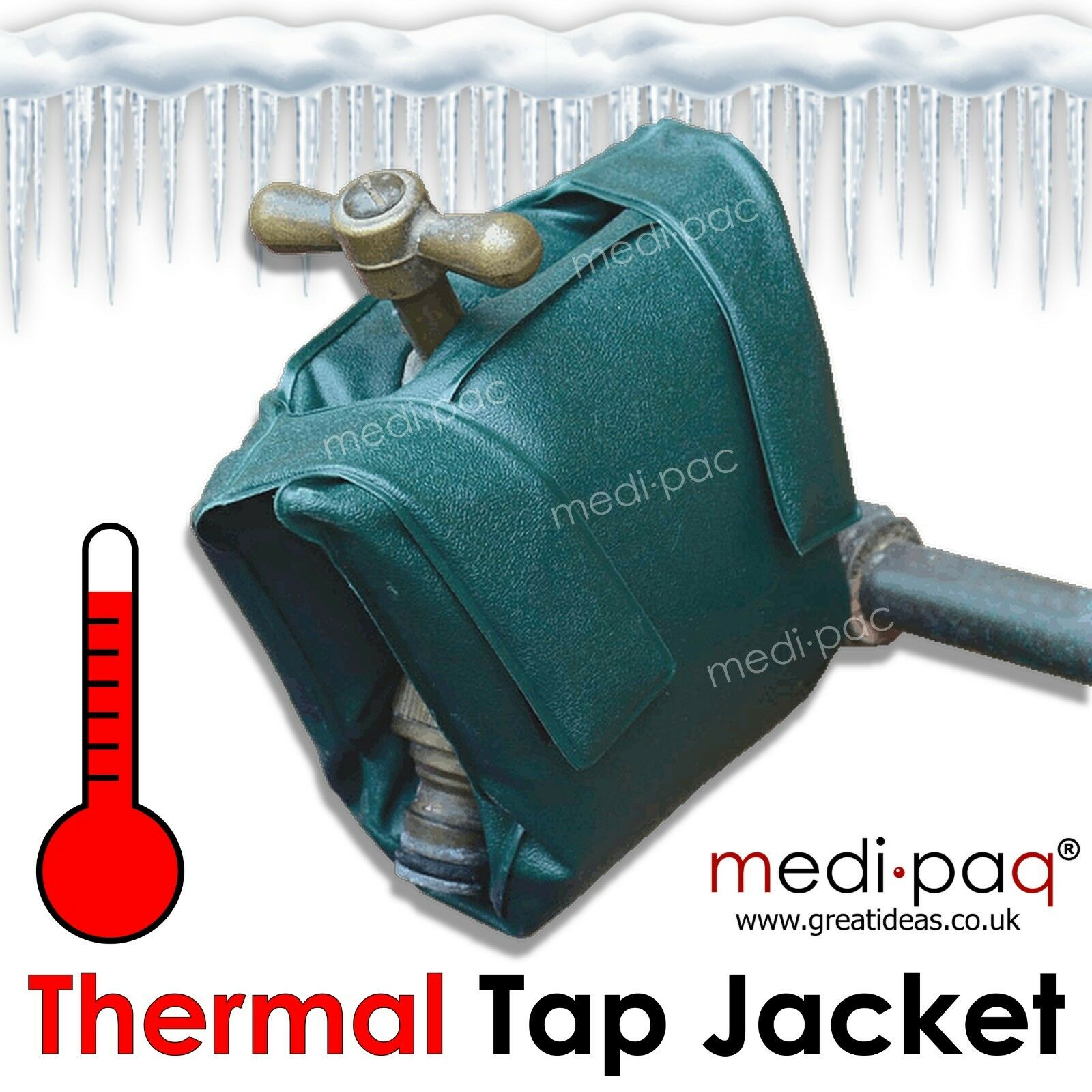 Outside Tap Frost Protector Winter Thermal Insulated Cover Outdoor Jacket Garden