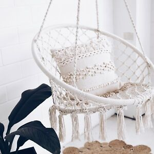 Lovely Image Is Loading Macrame HAMMOCK CHAIR Swing Relax In Luxury Comfort