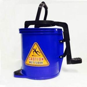f7cca8b6d2cb8 Mop Bucket Wringer Blue Buckets 16L Heavy Duty Commercial Cleaning ...