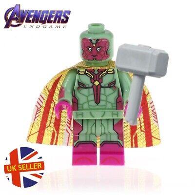 BRO Thor Figure LEGO Fit Mjolnir Stormbreaker Avengers END GAME MARVEL UK Venditore