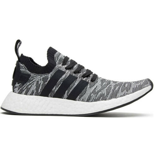 Size 10 - adidas NMD R2 Primeknit Core Black 2017 - BY9409 for ...