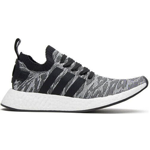 Size 10 - adidas NMD R2 Primeknit Core Black 2017 - BY9409 for sale online | eBay