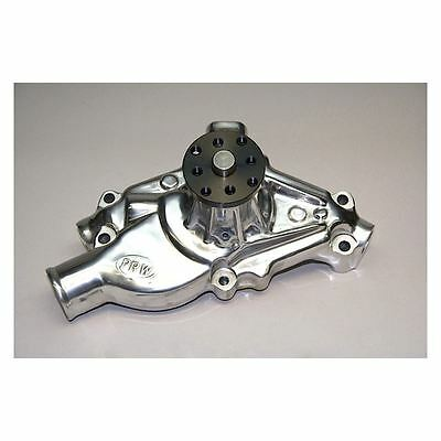 PRW 1435000 Small Block Chevy High Flow Short Style Water Pump Cast Aluminum