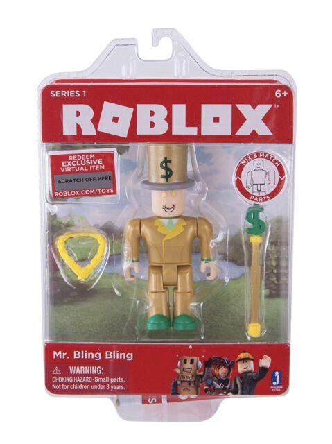 Ebay Roblox Figures Roblox Mr Bling Pack For Sale Online Ebay