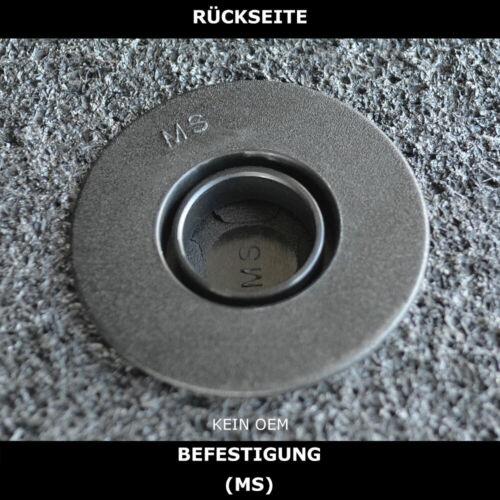 Fußmatten Passend für Mercedes B W245 2005-2011 - Anthrazit Nadelfilz 4tlg MS