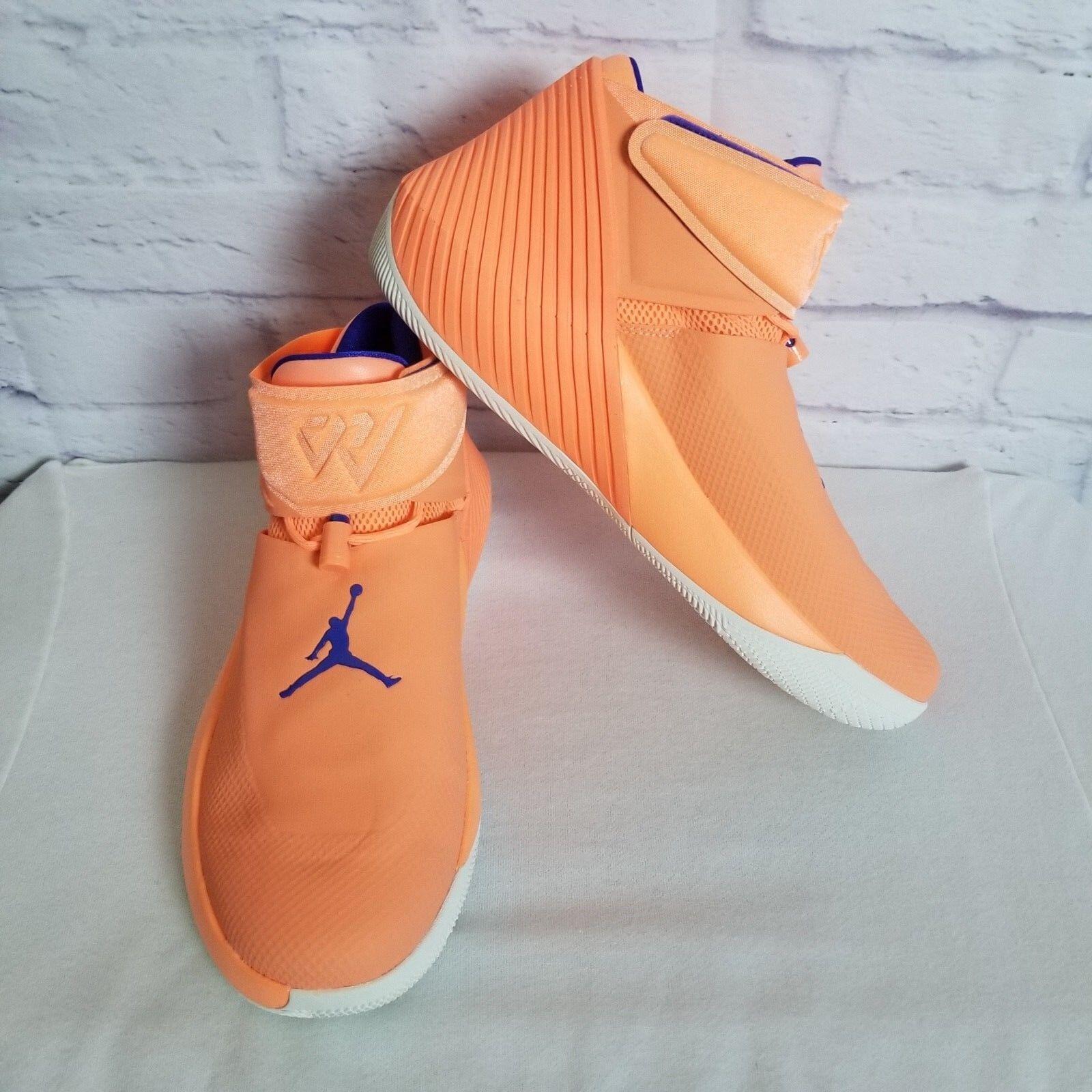 Nike Air Jordan Degli Uomini Perché Non Zero. 1   Taglia 13 Westbrook Orange Polso