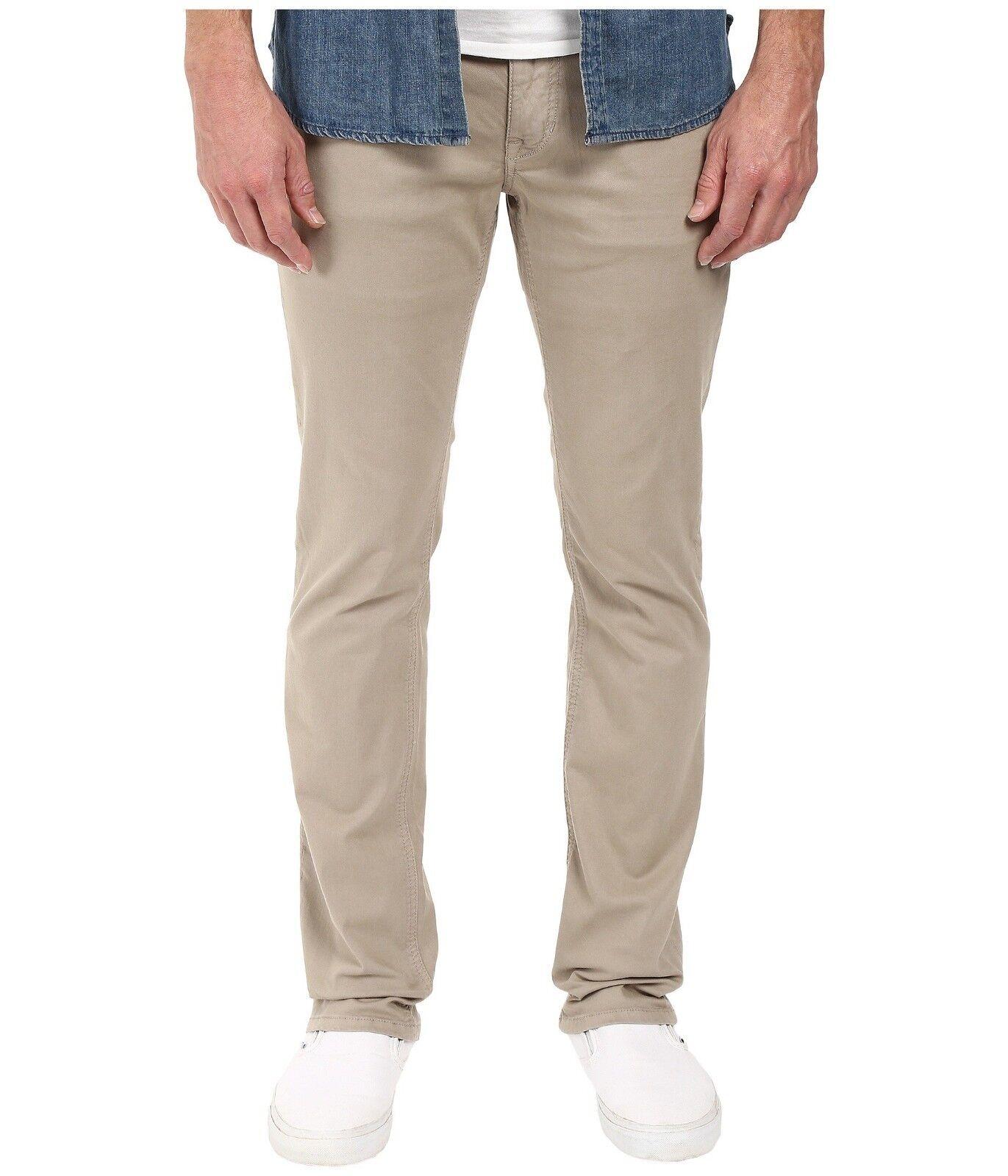 Joe's Jeans Men's Kinetic Twill Brixton Straight and Narrow Jean Mushroom sz 33