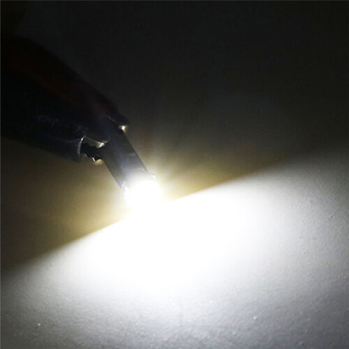 10X T5 OSRAM 3030 Canbus 37 70 73 74 W5W LED 1SMD White Dashborad Light Bulb EC
