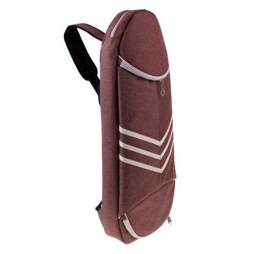 Tennis Badminton Racket Cross-body Sling Back Pack Carrier Bag Multi-Purpose