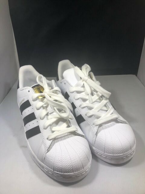 adidas superstar gs white black foundation size 4