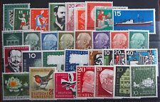 Germany Complete Year 1957 Stamp Set Mint Never Hinged MNH German Stamps