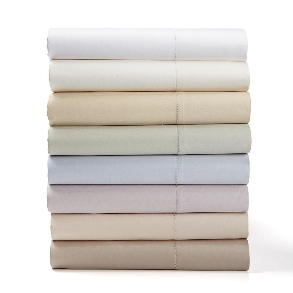 NIP Charisma Premium Avery 600TC Vanilla King Fitted & Flat Sheets (2pc)