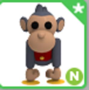 Neon Toy Monkey Ultra Rare Adopt Me Roblox Pet Ebay