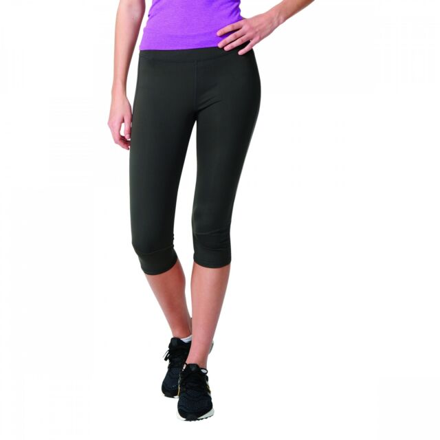 ee1914a919b adidas Supernova Womens Black Climalite Running Capri Tights Bottoms ...