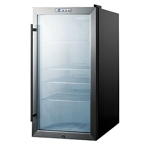 Summit SCR486L One Section Beverage Center, 3.35 cu. ft.
