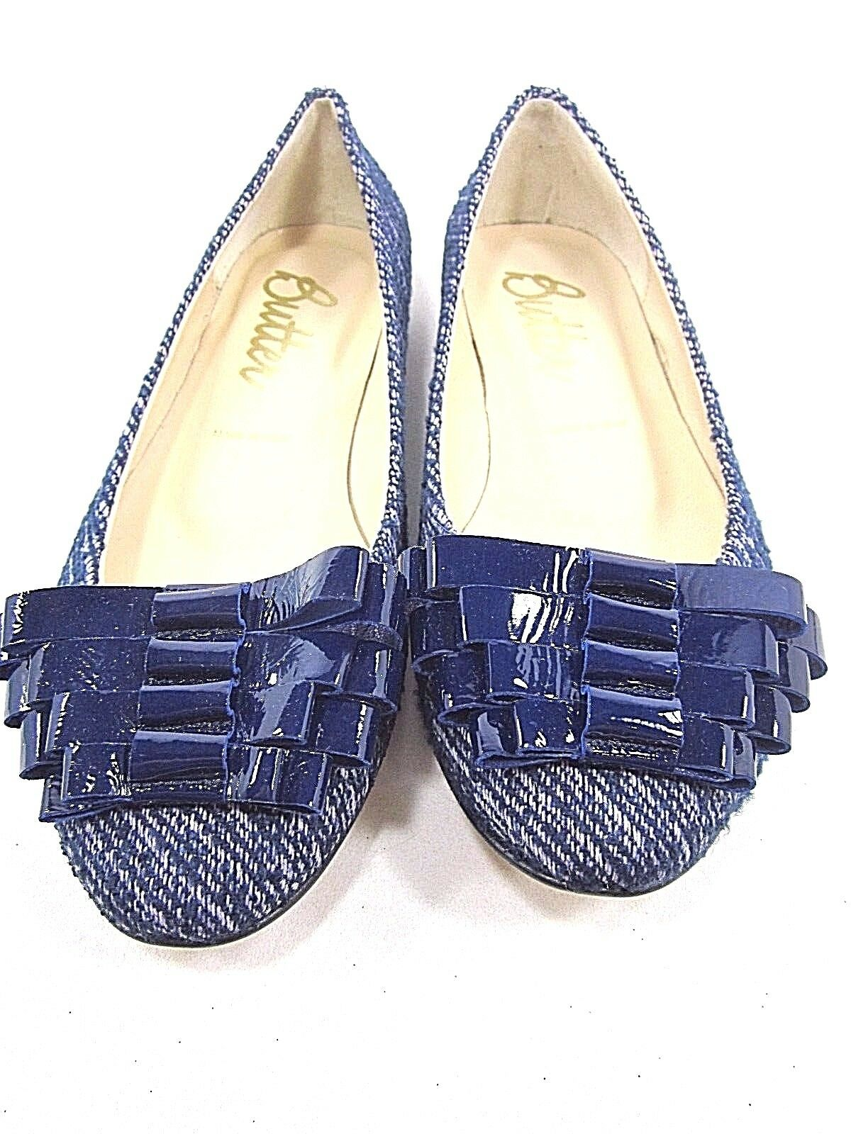 BUTTER, SARINA BALLET FLAT, Donna, Donna, Donna, BLUE COAT, US Size 7 M, NEW WITH BOX 5a98e0