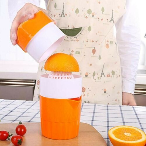 Manual Citrus Fruit Juicer Portable Orange Lemon Juice Squeezer Press Extractor