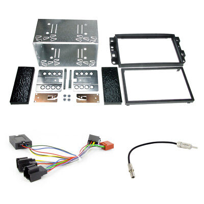 CTKCV02 CD Stereo Double Din Replacement Fitting Kit For Chevrolet Aveo Captiva