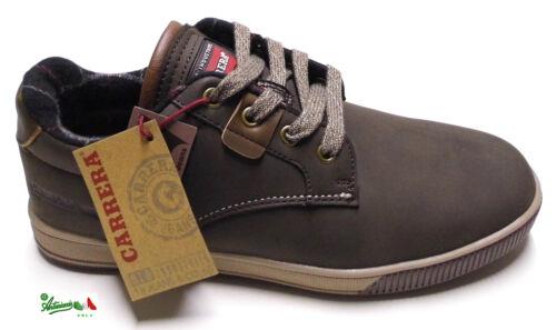 CARRERA RONNIE LOW//MID Scarpe sportive uomo invernali sneakers lacci gomma