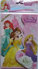 Disney Princess * Geheimes Tagebuch / Notizbuch * Magnetschloß*Liniert*Neu * OVP