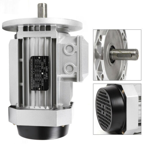 380V 1,5KW Drehstrommotor 3 Phase Elektromotor Wechselstrommotor Fast Shipping