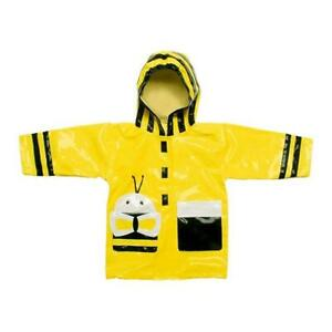 top-rated professional best wholesaler factory price Details about Kidorable Bumble Bee Raincoat Childrens Kids Unisex Yellow  Waterproof Rain Mac