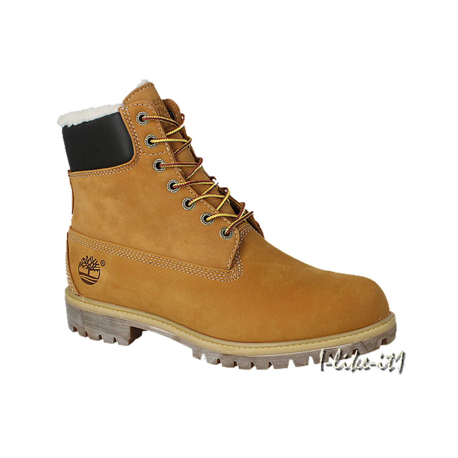 Timberland HERREN A13GA HERITAGE 6 IN WARM LINED LINED LINED TEDDY FLEECE Stiefel Wheat WATERP    baa370
