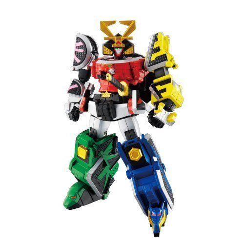 súper Robot Chogokin Samurai Sentai Shinkenger SHINKEN-o Japón figura de seguimiento