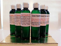 50% Citric Acid +activator + Sodium Solution Water Purification 24 Oz Total