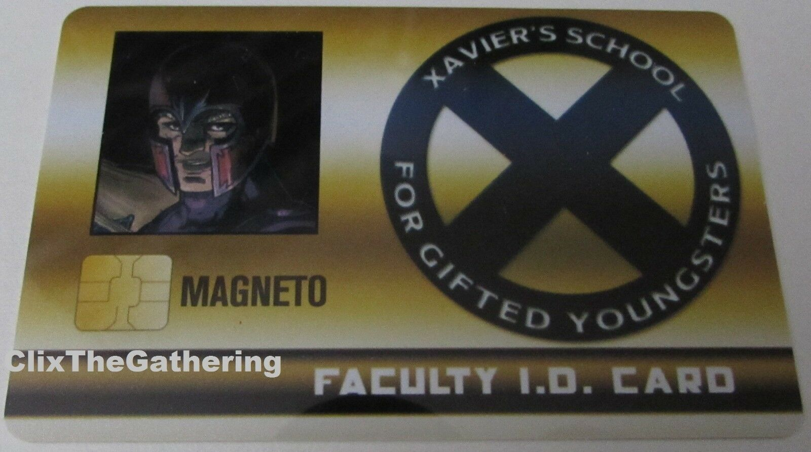 MAGNOTO FAKTA STUDENT ID CARD XID-023 X-Men Xavier s skolMarvel HeroClix