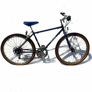 1984 Ross Curb Crusher Mountain Bike Vintage Blue Mtb 26 Bicycle