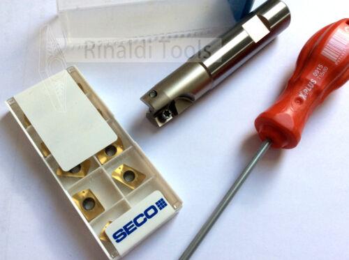 XOMX//XOEX120408...20mm Schaftfräser mit SECO Wendeplatten mit IK! NEU!!