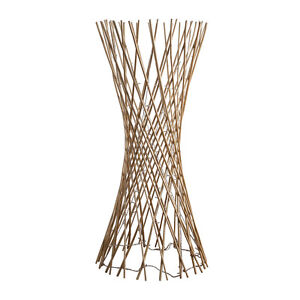 Contemporary light wood twisted lattice led floor lamp fairy image is loading contemporary light wood twisted lattice led floor lamp mozeypictures Image collections