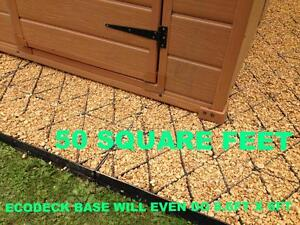 Garden Sheds 9 X 5 garden shed base kit greenhouse base 9 x 5 ft 9x5 - eco grass grid