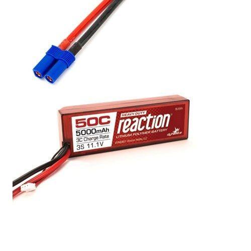 Dynamite Reaction HD 11.1V 5000mAh 3S 50C LiPo Hardcase EC5 for Pro Boat & Losi