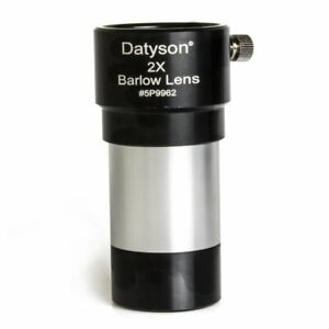 Datyson-1-25-034-2x-Barlow-Lens-Fully-Multi-Coated-Metal-for-Telescope-Eyepieces