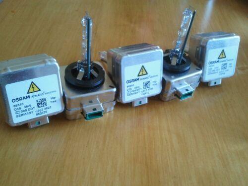 2 X GENUINE OSRAM D3S 66340   Xenon Bulb 35W  Audi,Bmw,Mercedes,Jaguar,VW