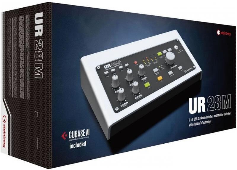 Interfaz De De De Audio Digital USB Steinberg UR28M  nuevo  incl Cubase AI 6  descuento de ventas en línea