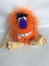 Pogs 'POGMAN' Plush Soft Toy. Orange. 13 Inches Tall.