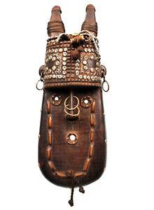 Art-Africain-Ethnographique-Masque-Toma-Landai-Ornements-Magnifiques-40-Cms