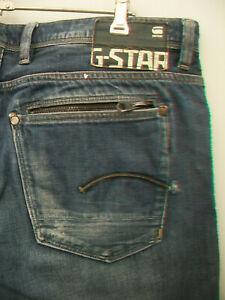 MENS-G-STAR-ATTACC-LOW-STRAIGHT-JEANS-SIZE-38