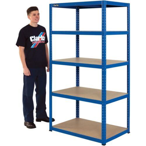 Clarke CSM517560BL 175kg Boltless shelving 6600752 Blue