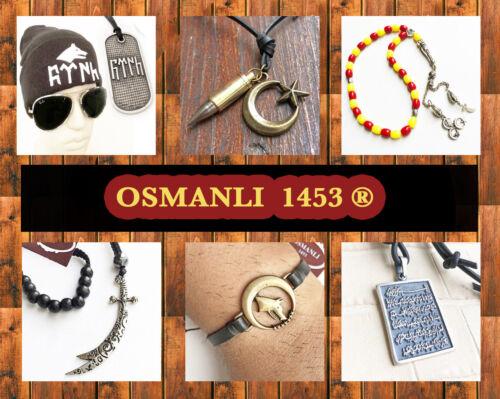 Ali zülfikar türkiy Osmanli 1453 Göktürk a52 SPG Bracelet Pir Sultan Nasser Hz